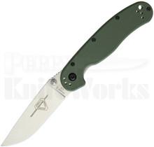 Ontario RAT II Liner Lock Knife OD Green 8828OD