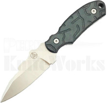 Nemesis Knives Arch Ally Fixed Blade Knife Black