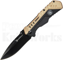 Smith & Wesson Assisted Knife Black/Tan SWSA11