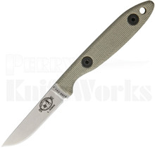 ESEE Camp-Lore Rowen CR2.5 Fixed Blade Knife Stonewash