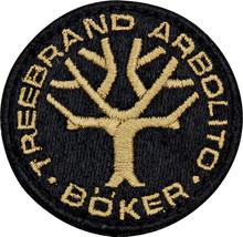 Boker Tree Brand Logo Patch Black & Tan