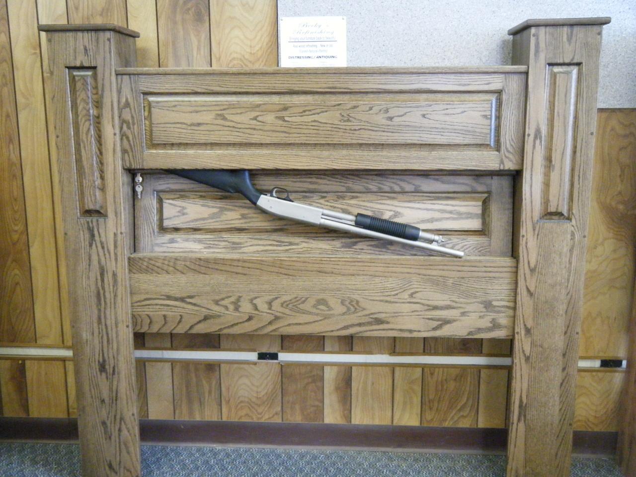 Gun Storage Headboard Plans