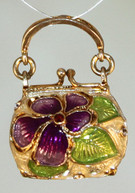 Blossom Purse Locket with Surprise