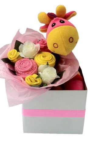 Baby girl clothing bouquets baby girl clothing bouquet negle Image collections