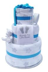 baby boy star nappy cake