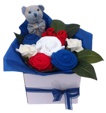 Baby Boy Clothing Bouquets