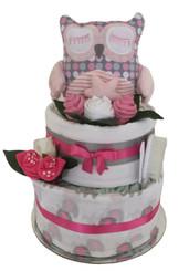 Nappy cake owl