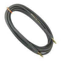 "Rapco 15' Instrument Cable with 1/4"" Gold Plated Connector (HOG-10-K)"