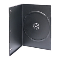 Adtec DVD Box Black Slimline 1 Disc 100pk