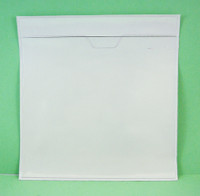 (CPP-A1) CD TAMPER PROOF - ADHESIVE BACK POUCH SLEEVE