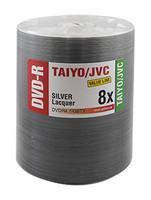 DVD-R JVC Taiyo Yuden 8x VALUE LINE Shiny Silver Lacquer 100pk