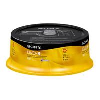 SONY DVD-R 4.7GB - 16x - BULK *BRANDED 25PK*