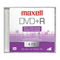 Maxell DVD+R 16x with Jewel Case