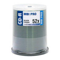 MBI Pro CDR 52x Shiny Silver 100pk