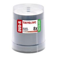 Taiyo Yuden JVC DVD-R 8x Shiny Silver 100pk