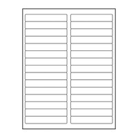 Adtec Labels 30 Up File Folder 500pk