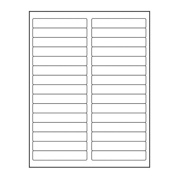 Adtec Labels 30 Up File Folder 500pk
