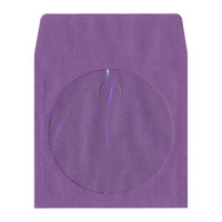 Adtec Paper Envelope with Window Purple 100pk