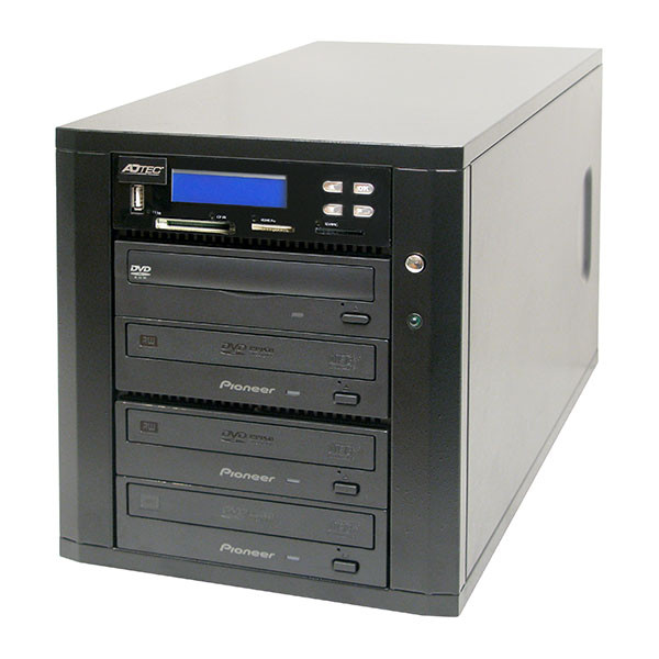 "Adtec ""All In One"" USB SD CF DVD CD Duplicator 3 Target"