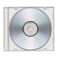 Adtec Jewel Case Slimline Frosty Clear 300pk