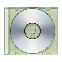 Adtec Jewel Case Slimline Green 300pk