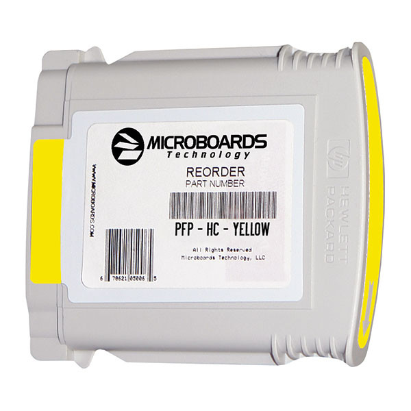 Microboards MX Series Yellow Ink Cartridge PFPHCYELLOW