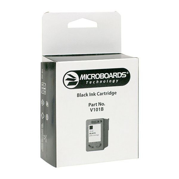 Microboards CX1 and PF3 Black Ink Cartridge V101B