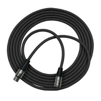 Rapco Horizon XLR to XLR Microphone Cable Black 50 feet