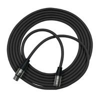 Rapco Horizon XLR to XLR Microphone Cable Black 6 feet