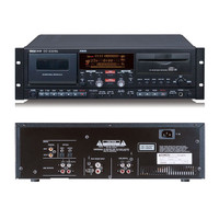 Tascam CD and Cassette CC-222SL Professional Live Recording Deck