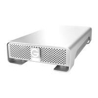 GTECH G-DRIVE GEN. 6 - 2TB (0G02919), USB3.0/2.0, FW800/400, eSATA, 7200 RPM