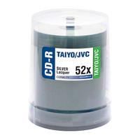 Taiyo Yuden JVC CDR 52x Shiny Silver 100pk