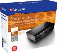 Verbatim Store 'n' Save 1TB Desktop Hard Drive (97579)