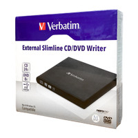 Verbatim External Slimline CD/DVD Writer