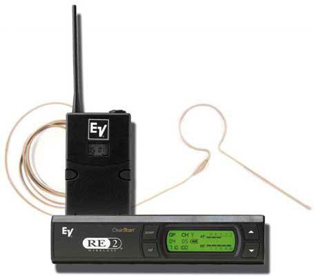 Electro-Voice EV RE2-E Wireless Micro Headworn Condenser Microphone System
