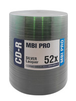 MBI PRO CD-R SILVER LACQUER 100PK - TAPE WRAP