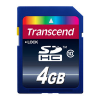 Transcend SD Card 4GB - Class 10