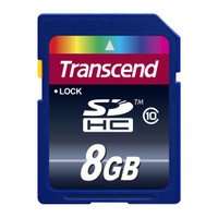 Transcend SD Card 8GB - Class 10