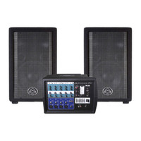 Wharfedale Pro PMX 500 Powered PA with Mic and Cables
