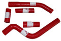 Pro Factory Silicone Radiator Hose Kit YZ250F 10-13 YZF250 Red