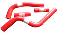 Pro Factory Silicone Radiator Hose Kit YZ125 02-15 Red Hoses