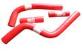 Pro Factory Silicone Radiator Hose Kit YZ125 02-15 Red Hoses