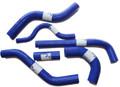 KX250F KXF Silicone Radiator Hose Kit Pro Factory Blue 2006-2008