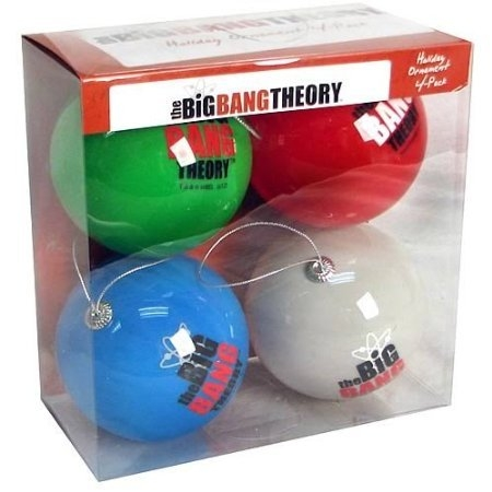 Bazinga Christmas Ornaments