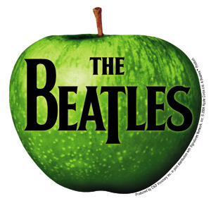 The Beatles Apple logo