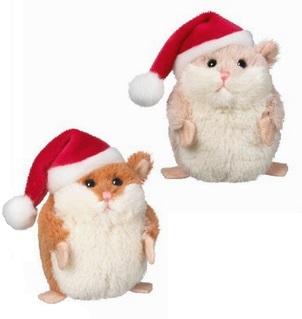 Hammy Christmas Hamster