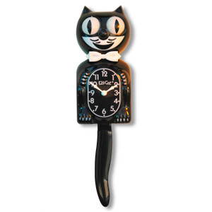 Retro Kit Cat Clock
