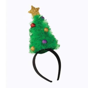 Christmas Tree Tulle Headband