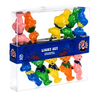 Grateful Dead Dancing Bears String Light Set