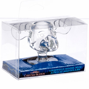 Moose Mug Acrylic Shot Glass in Packaging